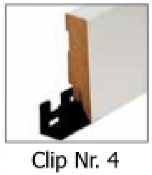 befestigungs clip nr 4 f r sockelleisten ebay. Black Bedroom Furniture Sets. Home Design Ideas